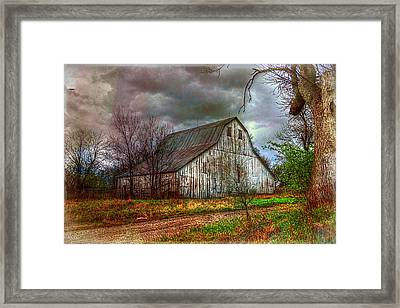 Watercolor Barn 2 Framed Print