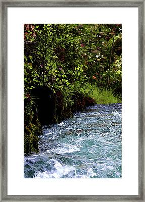Watercolor Big Springs Missouri 2125 W_2 Framed Print