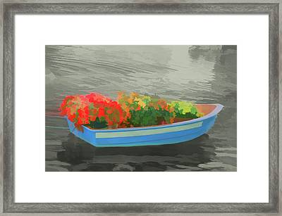 Framed Print featuring the photograph Watercolor Boat Parade by Aimee L Maher Photography and Art Visit ALMGallerydotcom