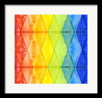 Geometric Shape Framed Prints