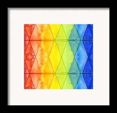 Geometric Framed Prints