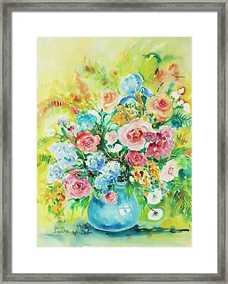 Watercolor Series 120 Framed Print