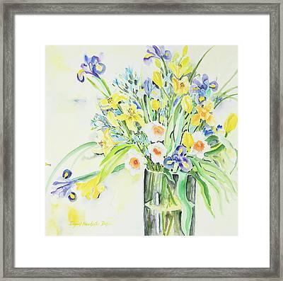 Watercolor Series 143 Framed Print