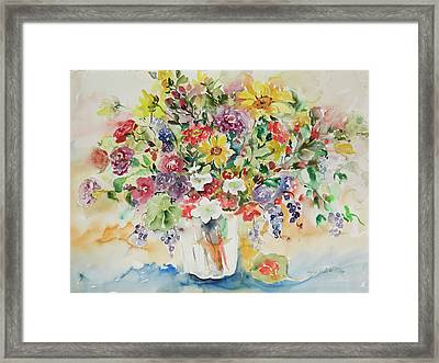 Watercolor Series 33 Framed Print