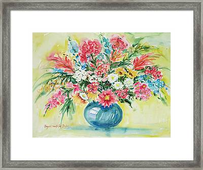 Watercolor Series 58 Framed Print