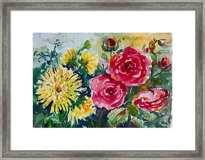Watercolor Series No. 212 Framed Print