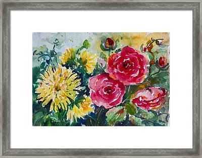 Watercolor Series No. 212 Framed Print
