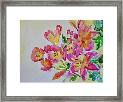 Watercolor Series No. 225 Framed Print