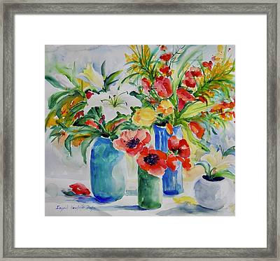 Watercolor Series No. 256 Framed Print