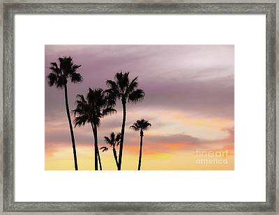 Framed Print featuring the photograph Watercolor Sky by Ana V Ramirez