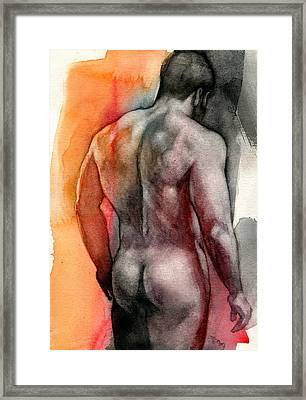 Watercolor Study 5 Framed Print