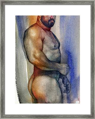 Watercolor Study 9 Framed Print
