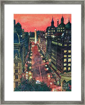 Watercolors-01 Framed Print by Bernardo Galmarini