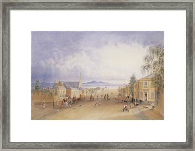watercolour by Alexander Webb Framed Print by MotionAge Designs