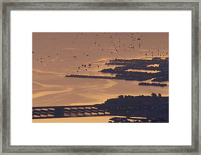 Watercraft Parking Lot Framed Print by Soli Deo Gloria Wilderness And Wildlife Photography