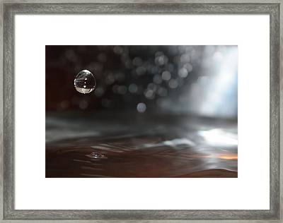 Waterdrop Framed Print