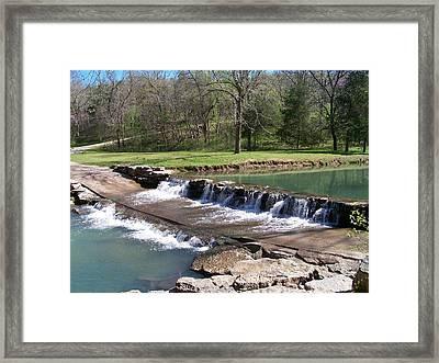 Waterfall 1 Framed Print by Julie Grace