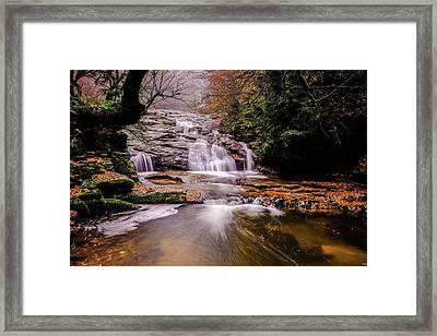 Waterfall-10 Framed Print
