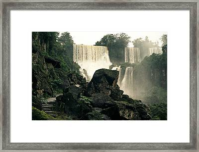 Waterfall 9 Framed Print