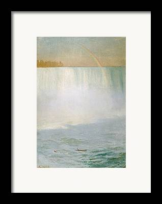 White Water Rapids Framed Prints