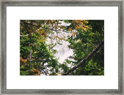 Waterfall Calling My Name Framed Print by Janie Johnson