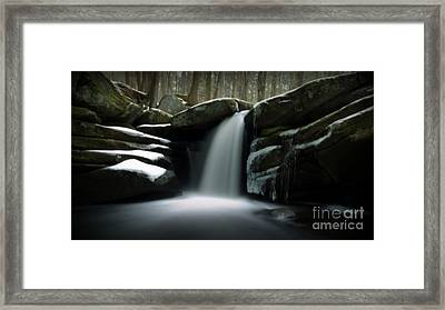 Waterfall From A Dream Framed Print