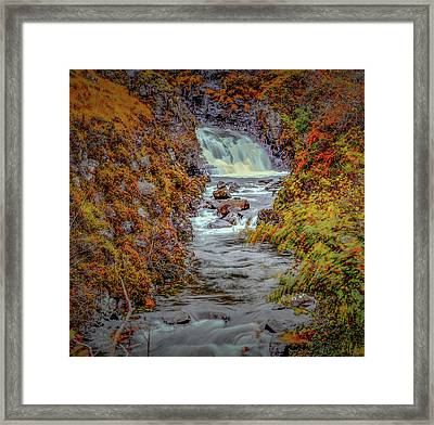Waterfall #g8 Framed Print