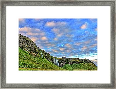 Framed Print featuring the photograph Waterfall Hill by Scott Mahon