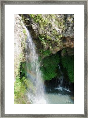 Waterfall Framed Print
