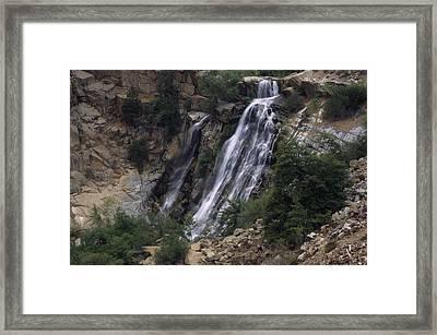 South Creek Falls Framed Print