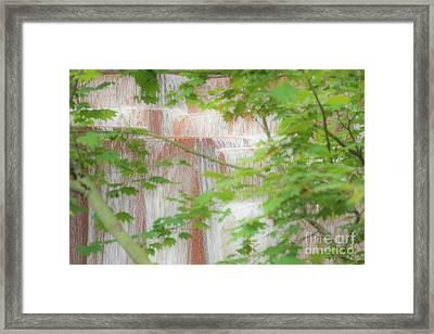 Waterfall, Portland Framed Print