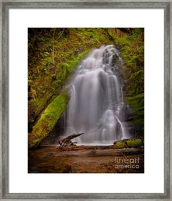 Waterfall Showers Framed Print