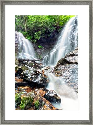 Waterfall Silence Framed Print