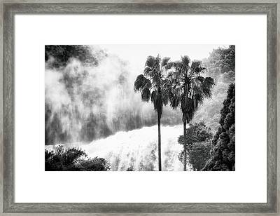 Waterfall Sounds Framed Print