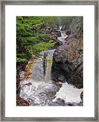 Waterfall Study 1 Framed Print by Tracy Wright