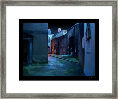 Waterford Alley Framed Print