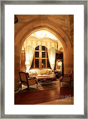 Waterford Castle Hotel Interior Framed Print by Ros Drinkwater
