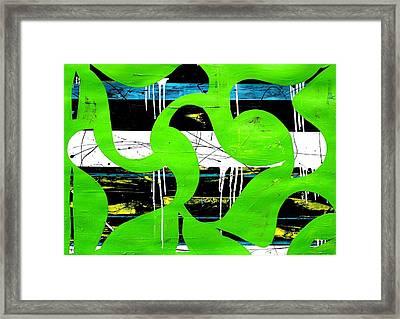 Waterfouls Framed Print by Teodoro De La Santa