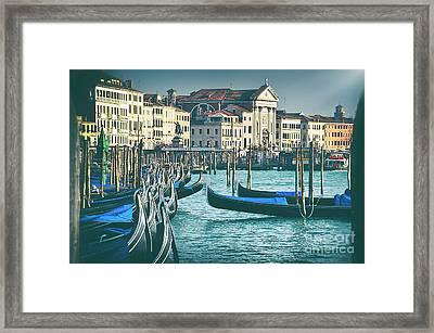 Waterfront Framed Print by Alessandro Giorgi Art Photography