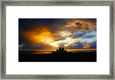 Waterfront Castle Of Your Own Framed Print