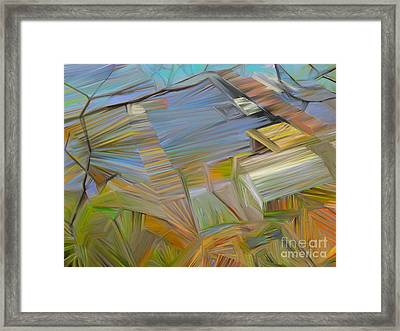 Waterfront Framed Print by CR Leyland
