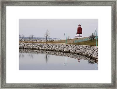 Waterfront Framed Print by Dan Holm