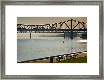 Waterfront Park IIi Framed Print by Steven Ainsworth