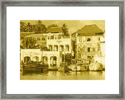 Waterfront Framed Print by Patrick Kain