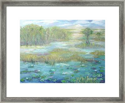 Waterglades Park 2 Of Palm Beaches Framed Print