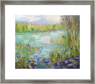 Waterglades Park Florida Framed Print