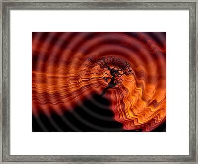Waterhill Framed Print by Steve K