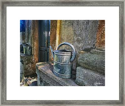 Watering Cans Framed Print