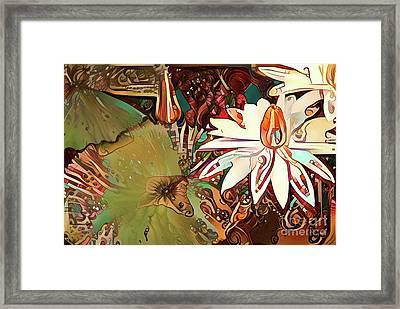 Waterlilies 11 Framed Print