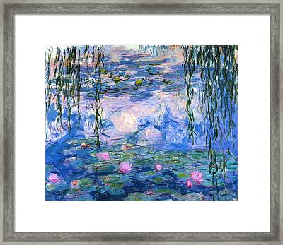Waterlilies 1919  Framed Print